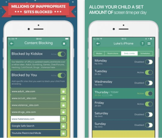 What is the best parental control for iphone