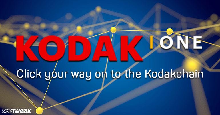 Kodak Next on the Blockchain