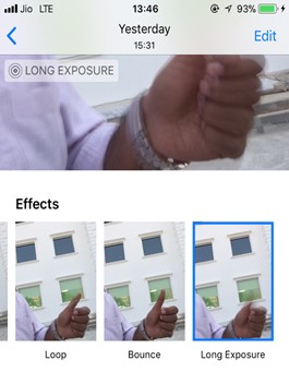 ios how to enable live photo