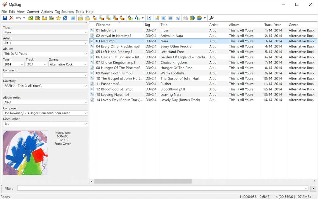 A Good MP3 Tag editor | MacRumors Forums