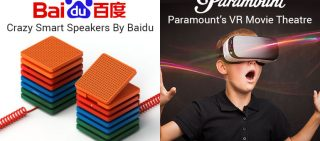 NEWSLETTER BAIDU'S SMART SPEAKERS & VR MOVIE THEATRE BY PARAMOUNT