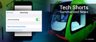 NEWSLETTER CHINA'S DRIVERLESS TRAM & APPLE'S ANTI-TRACKING SYSTEM