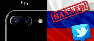 NEWSLETTER No Twitter for Russia Today and Sputnik & iPhone Camera Spies On You