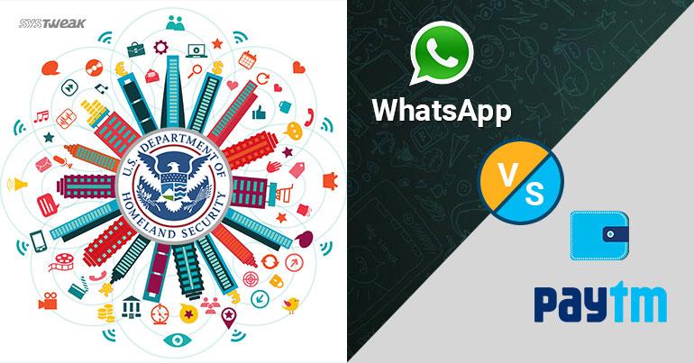 Newsletter Paytm Vs WhatsApp & U.S. IOT Security Bill