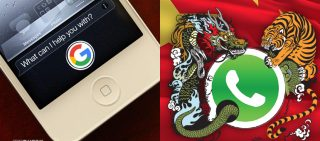 Newsletter WhatsApp, China's New Victim & Apple Sidesteps Bing, Makes Way For Google