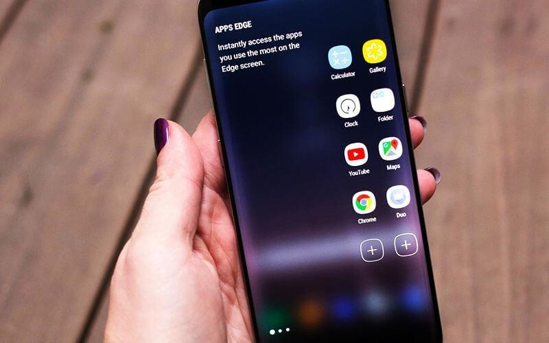 Palm Swipe Feature S8