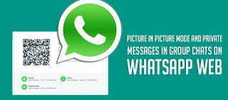 Picture In Picture Mode And Private Messages In Group Chats On WhatsApp Web
