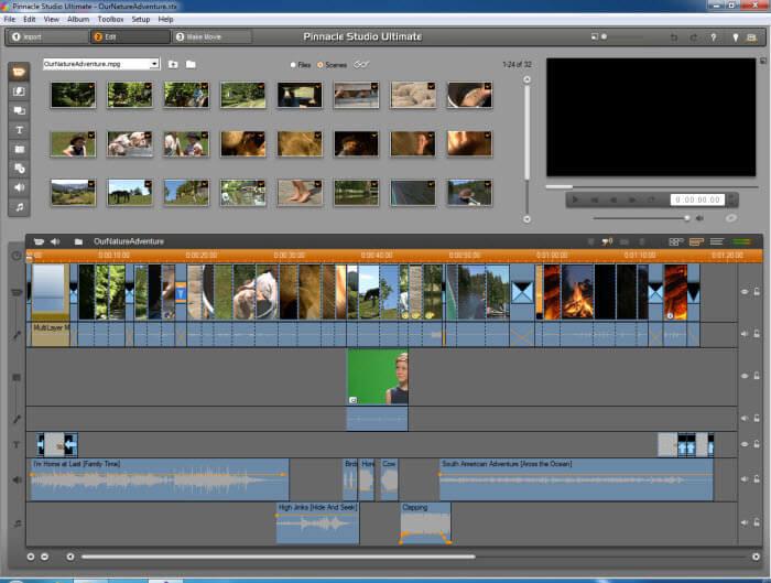 Pinnacle Studio- windows video editor