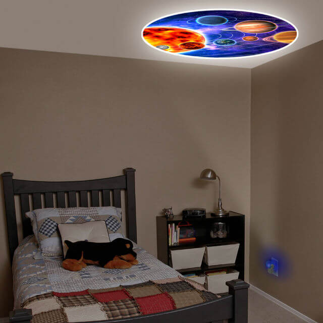 Projectable night light
