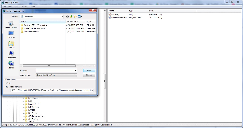 REG File extension