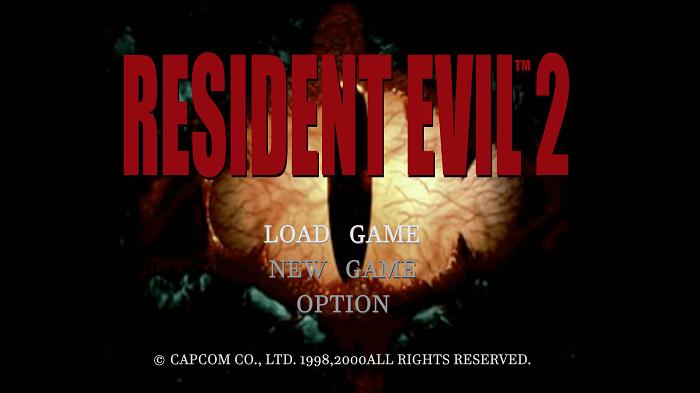 resident-evil-2- PS 1 game