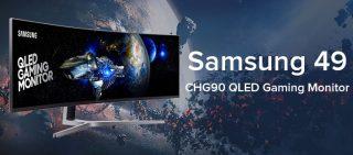 Samsung's New CHG90 QLED Super Ultrawide 49