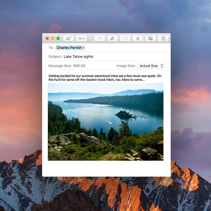 Search, Drag & Drop Mac OS Siri