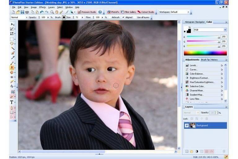 Serif Photoplus-best photo editor software windows