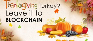 Thanksgiving Turkey Leave It To BLOCKCHAIN