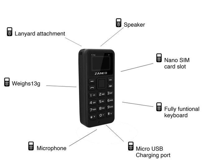Tiny T1 Phone