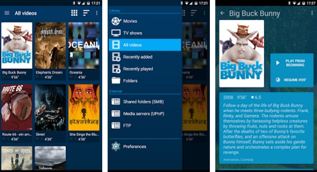 Best android app for movie player