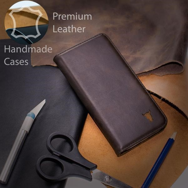 Torro Dark Brown leather case for iPhone X