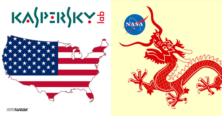 US GOES COLD WAR ON KASPERSKY & CHINA STARTS NEW SPACE RACE WITH NASA