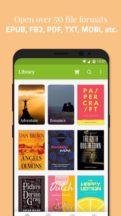 Universal Book Reader for android