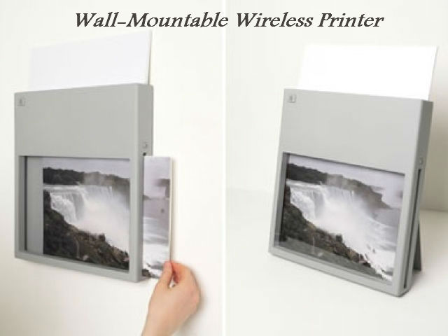 Wall-Mountable Wireless Printer by Ransmeier and Floyd