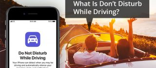 What Is Do not Disturb While Driving