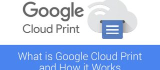 What is google cloud print and how it works
