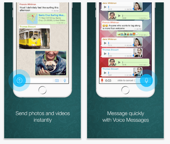 WhatsApp-best texting app iphone