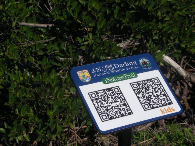 QR Codes in Wildlife Sanctuary