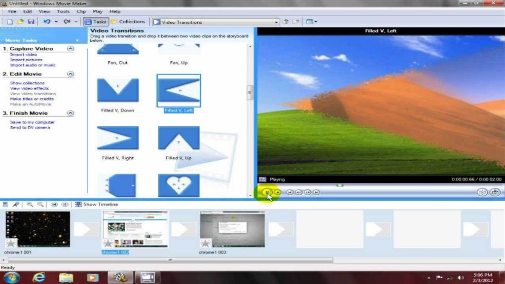 Windows Movie Maker- best windows video editor 2017