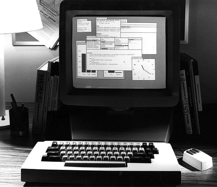 Xerox Alto Mouse GUI