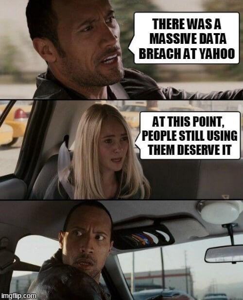 Yahoo has its data breached, Again!