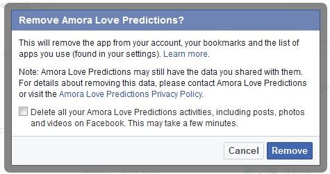 amora love prediction facebook