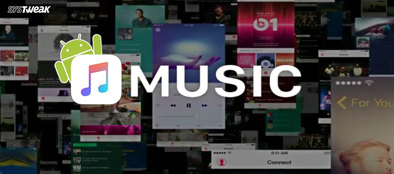 Apple Music App Redesigns for Android