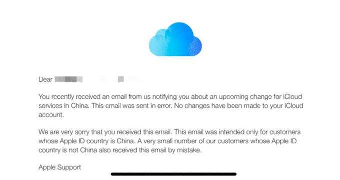 apple icloud china