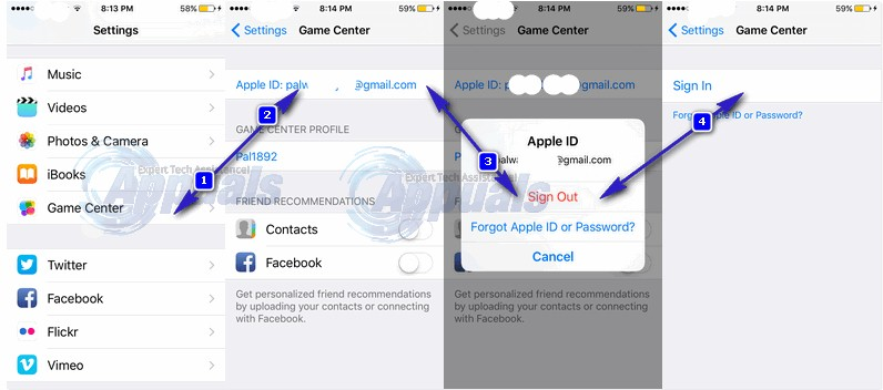 how to make another game center account