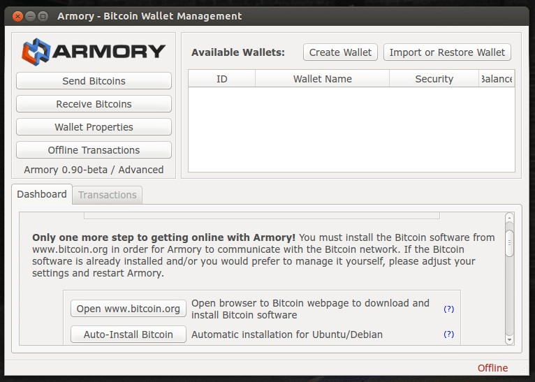 armory bitcoin wallet