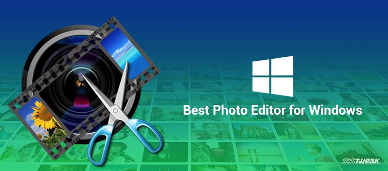 best photo editor for windows