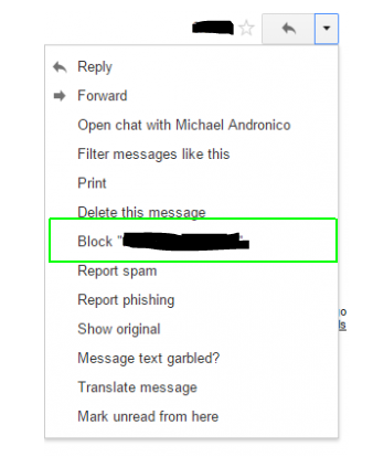 block mail gmail