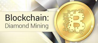 blockchain diamond mining