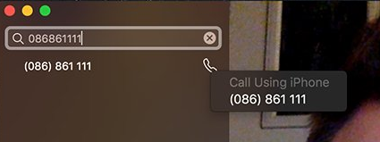 call to mac