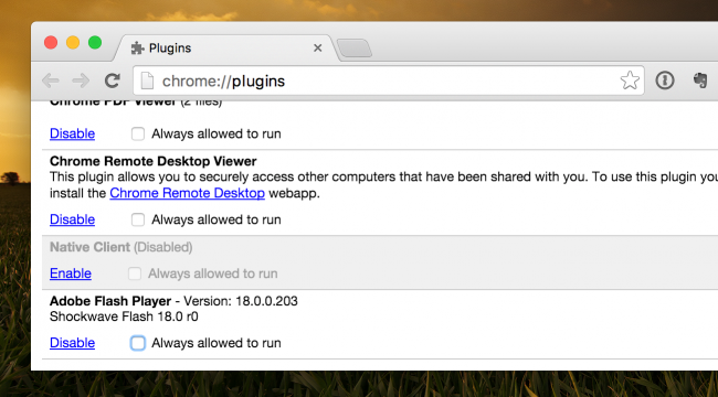 chrome plugins