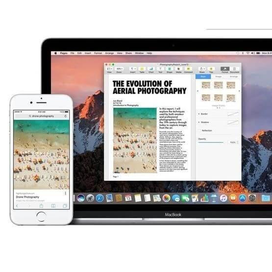 copy paste mac