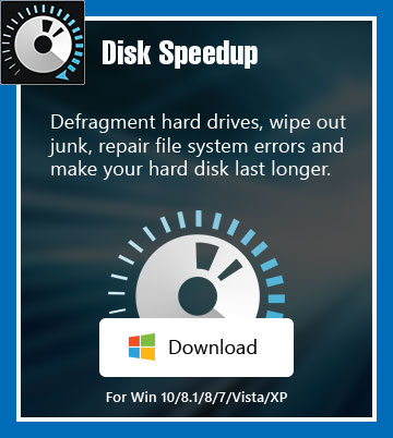 Disk Speedup – windows