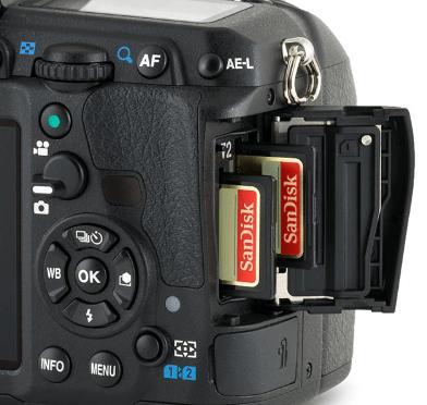 dual memory cards
