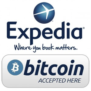 expedia accept bitcoin
