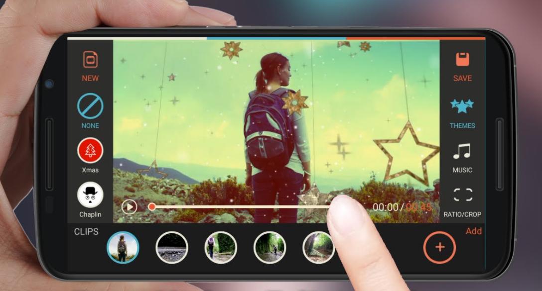 flimora- video editing app