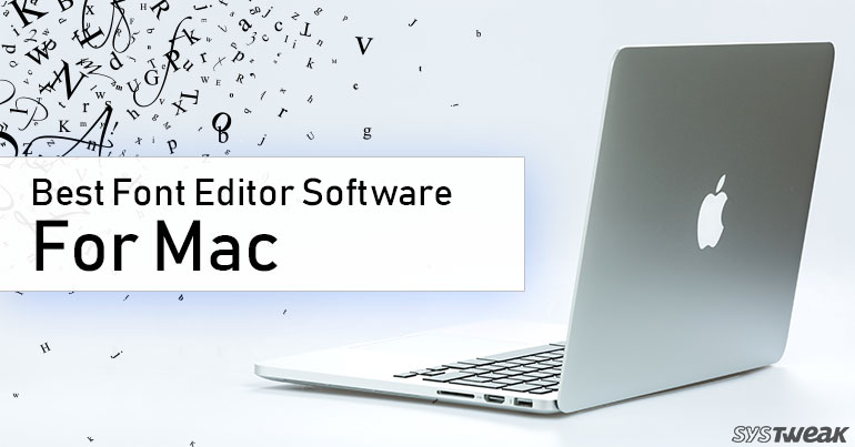 font editor for mac