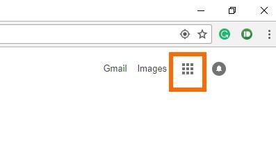 gmail menu icon