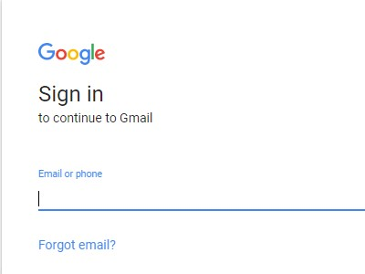 gmail signin